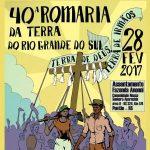 Vem aí 40ª Romaria da Terra do Rio Grande do Sul