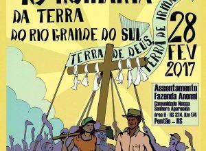 40ª Romaria da Terra do Rio Grande do Sul será dia 28 de fevereiro em Pontão