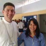 Dom Adelar e Ir. Zenilde em Brasília representando a juventude