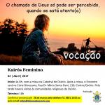 """Diocese de Osório realizará o encontro vocacional """"Kairós Feminino"""""""