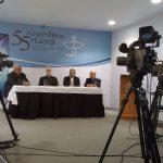 Greve Geral ganha destaque na coletiva de imprensa da Assembleia Geral da CNBB