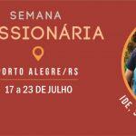 Jovens do RS participarão de Semana Missionária em Porto Alegre