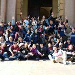 Jovens tiveram contato com diferentes realidades em Porto Alegre