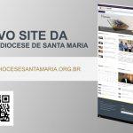 Arquidiocese de Santa Maria colocou no ar novo site