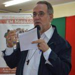 """""""A alegria do Evangelho quando toma conta do nosso coração nos faz partilhar com as outras pessoas"""", afirmou dom Esmeraldo"""