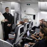 Papa Francisco: a volta da Colômbia e o balanço geral feito aos jornalistas no avião