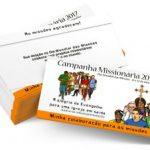 Coleta: Dia Mundial das Missões nos dias 21 e 22 de outubro