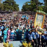 Milhares de fiéis participam da 74ª Romaria da Medianeira
