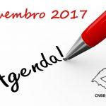 Regional Sul 3: Agenda de novembro 2017