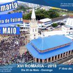 Romaria de Fátima deve reunir 5 mil no domingo