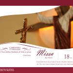 Missa do Projeto de Evangelização será no dia 18