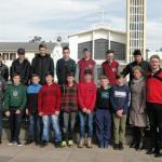 Encontro de vocacionados em Erexim reuniu jovens