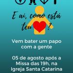 Paróquia de Caxias realiza bate-papo vocacional