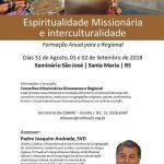 Participe: Espiritualidade Missionária em Santa Maria