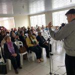 Minicongresso da Pastoral da Saúde, em Pelotas.