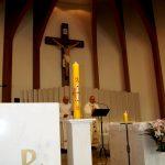Dom José preside missa de Páscoa no Santuário e anuncia projeto para a Cáritas
