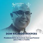 Dom Ricardo Hoepers foi eleito em primeiro escrutínio para a Comissão para a Vida e a Família