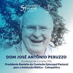 Dom Peruzzo é reeleito para presidir a Comissão Episcopal para Animação Bíblico-Catequética