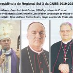 Bispos gaúchos elegem a nova presidência do Regional Sul 3 da CNBB