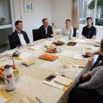 Montenegro: Dom Carlos Romulo se reúne com comunicadores da região
