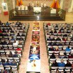 Missa e procissão de Corpus Christi em Erexim