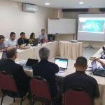 Coordenadores regionais da Pascom reunidos em Goiânia