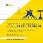 "Congresso Internacional ""Acordo Brasil-Santa Sé"""