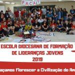 Pastoral da Juventude da Diocese de Erexim conclui Escola de Formação de Lideranças Jovens FAÇA