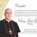 DOM JOSÉ TOMARÁ POSSE COMO BISPO DA DIOCESE DE CAXIAS NO PRÓXIMO DOMINGO