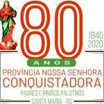 Província dos Palotinos celebra 80 anos