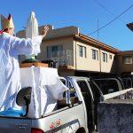 Dom Adelar abençoa Cruz Alta pedindo a intercessão de Fátima