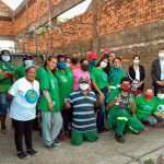 Mais de 70 famílias receberam cestas básicas em Ação Solidária
