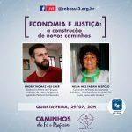 Série de Lives provoca reflexão sobre Economia e Justiça