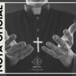 Pe. Olindo Carlini: nota da Pastoral Presbiteral