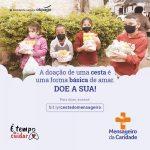 Mensageiro da Caridade lança campanha emergencial