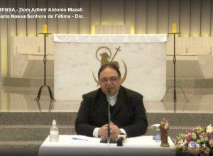 Dom Adimir Mazali é acolhido na Diocese de Erexim
