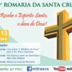 19ª Romaria da Santa Cruz acontecerá online de 10 a 13 de setembro