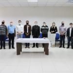 Montenegro: Dom Carlos se reúne com candidatos à prefeitura