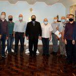 Padres de 30 a 40 anos de ordenação de Erexim se encontram com o Bispo