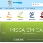 Lançamento: Arquidiocese apresenta novo site e identidade visual