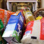 Paróquias serão pontos de arrecadação de alimentos no Sábado de Aleluia
