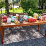 Mais de nove toneladas de alimentos arrecadadas no Sábado de Aleluia
