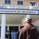 Páscoa e pandemia: A visita do Ressuscitado aos hospitais de Caxias e região