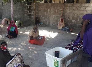 Moçambique: equipe missionária inicia alfabetização de mulheres