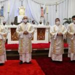 Diocese de Vacaria ordena quatro novos diáconos permanentes