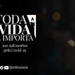 Toda vida importa: CNBB homenageia os 500 mil mortos pela Covid-19