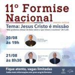 Pontifícia União Missionária prepara próximo FORMISE