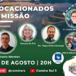 Caminhos de Missão: Próxima live é na quinta, dia 12 de agosto