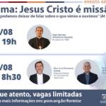 11º Encontro de Formação Missionária de Seminaristas será 20 e 21 de agosto