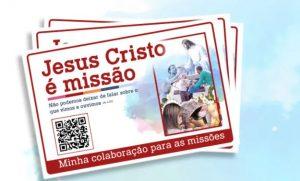 Jesus é Missão: Coleta Missionária é no próximo final de semana